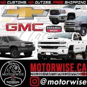 Chevy | GMC | Silverado | Sierra | Duramax Performance Parts | Shop & Order Online at www.motorwise.ca | Free Shipping