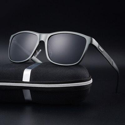 Neu Herren Sonnenbrille Polarisierte Fahren Sportbrille 100% UV400 Schutz Brille