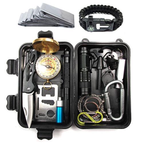 Outdoor SOS EDC Case Emergency Survival Gear Kits Tactical C