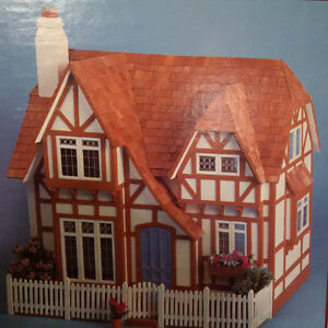 Greenleaf 'The Glencroft' Wooden Dollhouse Kit Edmonton Edmonton Area image 1