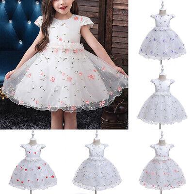 Kinder Kleid Kleinkinder Party Kostüm Kleid Hochzeit Stickerei - Festzug Kostüme Kinder