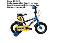 Child bikes with FREE assembly. childrens bikes, cheap boys bikes, cheap girls bicycle, Kids bikes