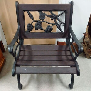 Wrought iron buy or sell patio garden furniture in for Outdoor furniture kijiji