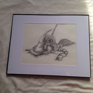 Hand Done Harry Potter Owl Drawing
