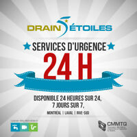 Plombier Urgence 24h/7 Débouchage | Emergency Plumber 24/7