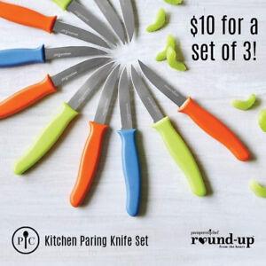 Pampered Chef Kitchen Parking Knife Set