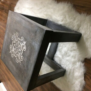 Solid Rustic grey coffee table ! Need gone asap