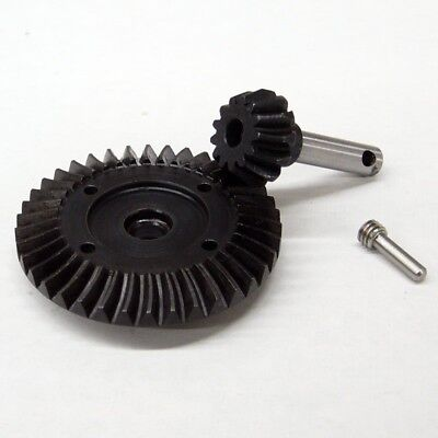(HD Hardened Steel 38T/13T Helical Bevel Diff Gear Set Replaces Axial AX30395)