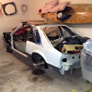 85 Mustang GT project