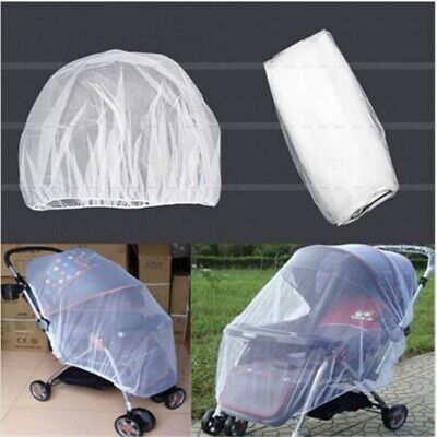 Universal Baby Stroller Mosquito Insect Net Cover May  Fit Bassinet Car Seat US