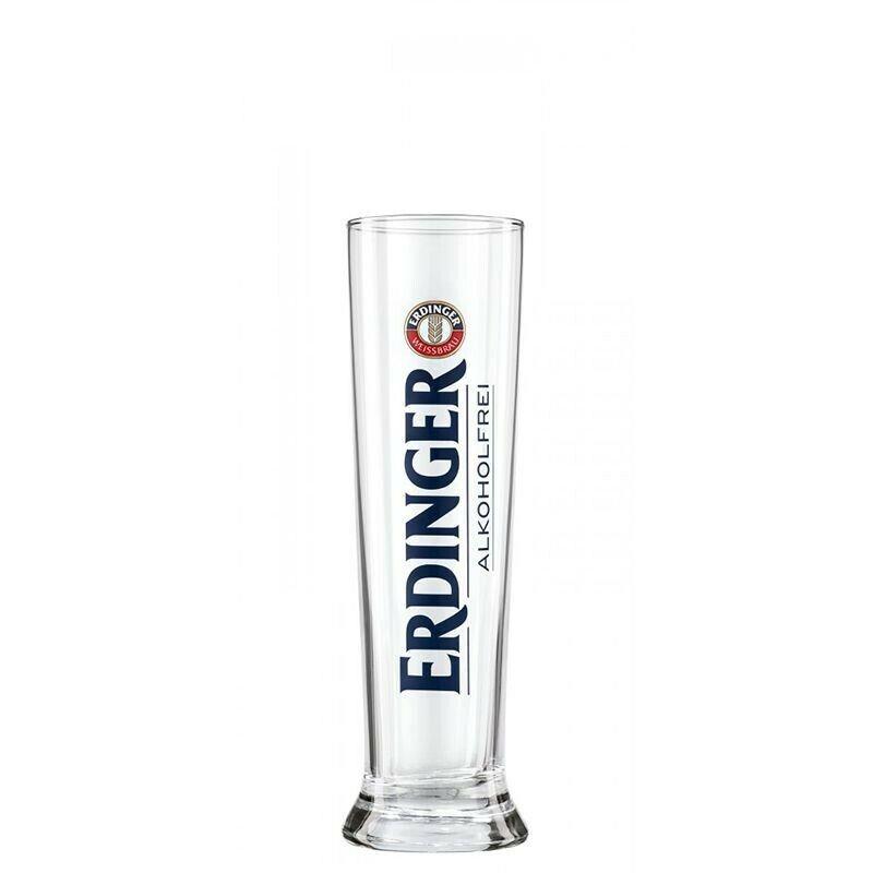 Erdinger Alkoholfrei Weizen Glas Größe: 0,3 L , 6 Stück Biergläser