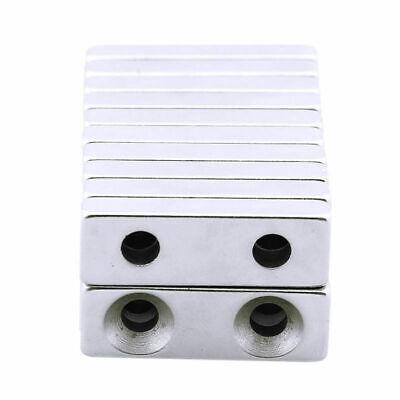 Strong Block Strip Cuboid Magnet Rare Earth N35 Grade Neodymium 50105mm
