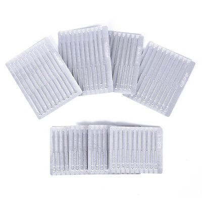 50pcs/lot Acupuncture Disposable Needle Sterile Needles Single Use 8 Sizes New  - $6.38