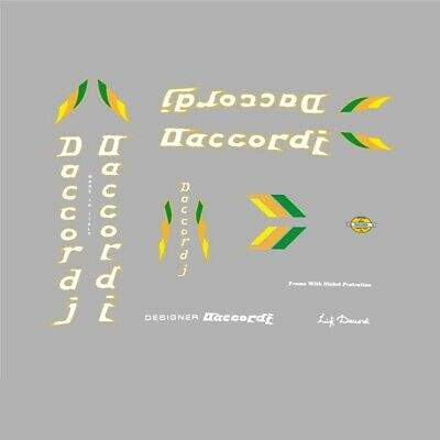 Daccordi Bicycle Decals, Stickers n.9 for sale  Shipping to United States