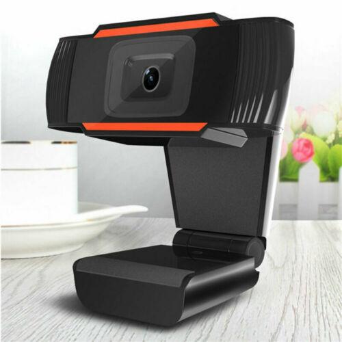Neu Drehbar 2,0 HD Webcam Digital PC USB Kamera Videoaufnahme mit Mikrofon VGLF