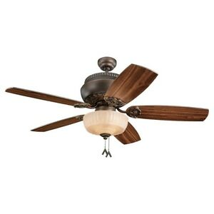 "Monte Carlo 52"" Fan with Light"