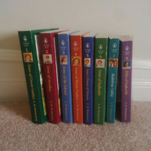 Anne of Green Gables Set of 8 Books