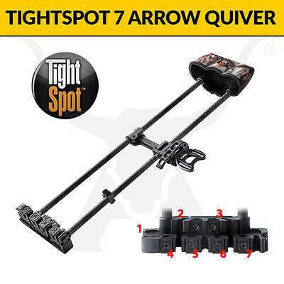 TightSpot ARCHERY Arrow Quiver! THE BEST BOW