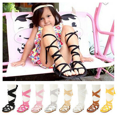 Baby Girl Shoes Gladiators Sandals Sandles Toddler Kids Flip Flops Summer Boots