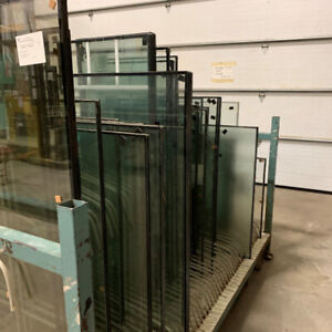 Various sizes of glass (Clear, obscure, tempered etc)