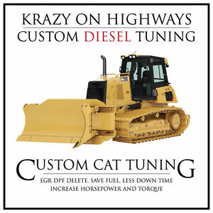 CAT Dozer EGR & DPF Removal