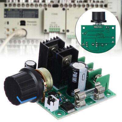 10a Pwm Dc Motor Speed Controller Dimmer Voltage Regulator With Knob Kit 12v-40v
