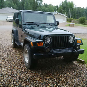 2003 Jeep TJ Sport - 4.0L, Manual 5 Spd, 4x4, Hard Top
