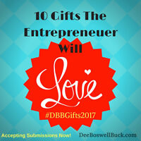 Accepting Submissions for Small Business Gift Guide!