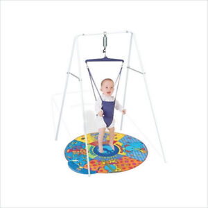 Jolly Jumper stand with musical mat