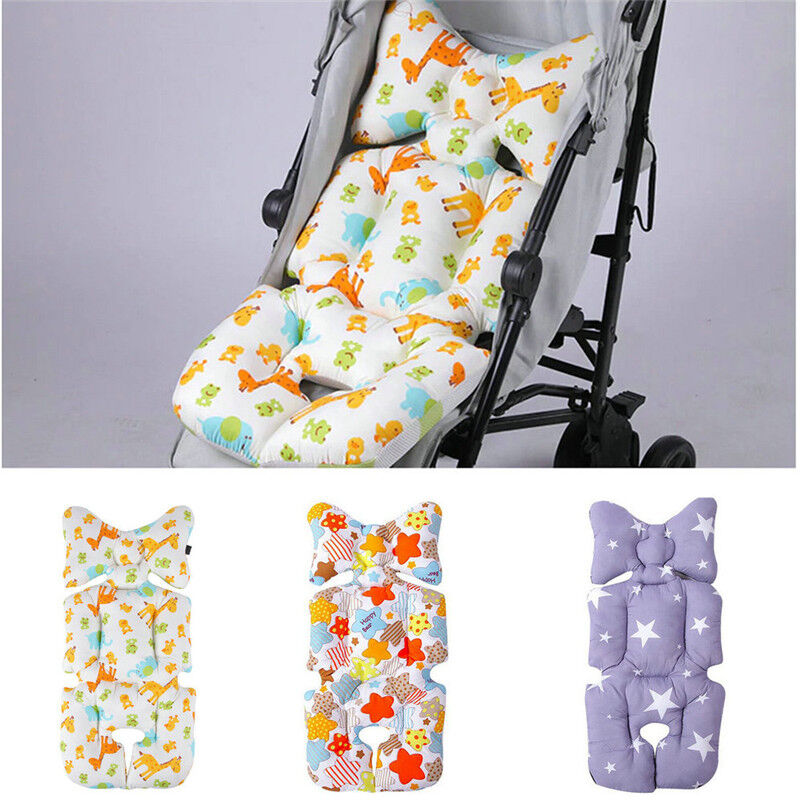 Baby Stroller Buggy Pram Pushchair Pad Liner Cover Mat Car Seat Chair Cushion
