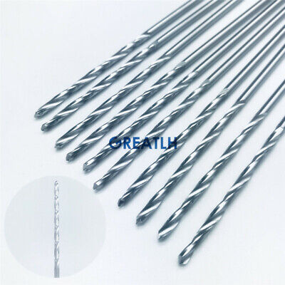 High Quality 115mm Stainless Steel Drill Bits Orthopedics Instruments 10pcsset