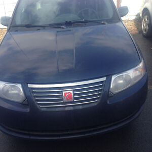 2007 Saturn ION Blue Sedan