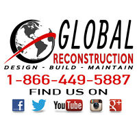 General Contracting - Custom Build Cottages - Renovations