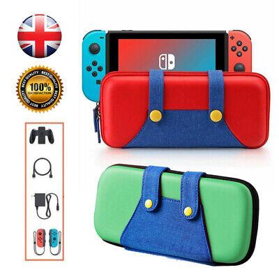 Carry Case For Nintendo Switch Mario Pokemon Travel Bag Protective Game Storage