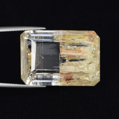 71.48 ct BEST GRADE RARE_UNTREATED RUTILATED 100% NATURAL TOPAZ - See VDO RT03