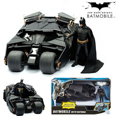 The Dark Knight Batman Batmobile Bat Car Figure Tumbler PVC Kids Toy Gift US (Kids Batmobile Car)
