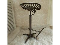 Metal Tractor Seat Kitchen Bar Stool