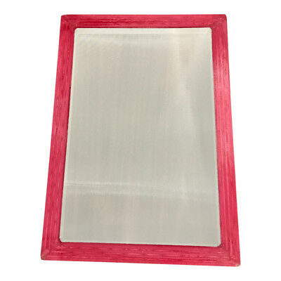 Aluminum Silk Screen Frame 10x14 Od High Quality 110 Mesh For Screenprinting