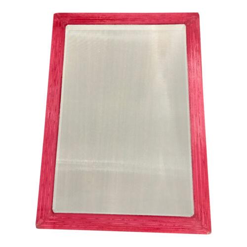 "Aluminum Silk Screen Frame, 10x14"" OD high quality 110 mesh for screenprinting"