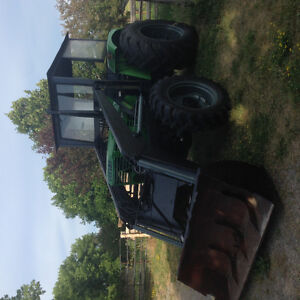 DEUTZ D6806,4WD,4 CYL,DIESEL TRACTOR WITH FREY LOADER  -AIR COOL Peterborough Peterborough Area image 3