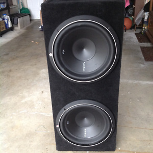 Rockford fosgate p2 subwoofers for sale