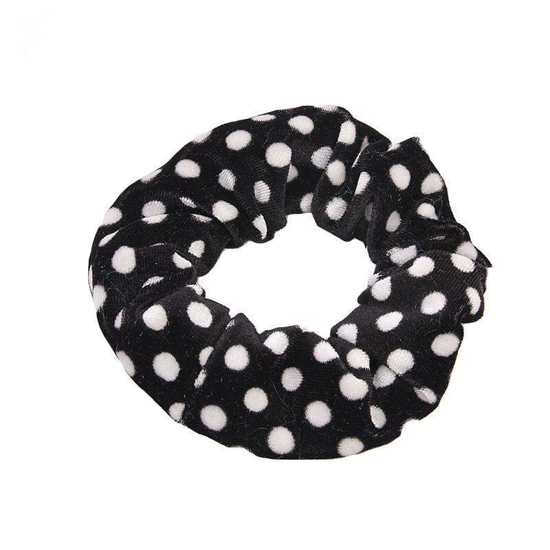 Leopard Print Hair Bands Scrunchie Elastic Scrunchy Ponytail Holder Hairband DE