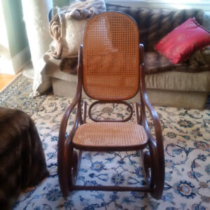 Vintage Thonet Bentwood Rocking Chair