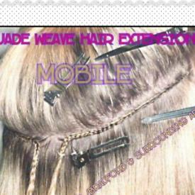 Weave sew in hair extensions method £10