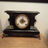 Late 1800's Colonial mantel clock