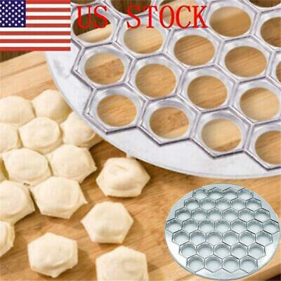 Russian Pelmeni Dumpling Maker Mold Pierogi 37 Holes Aluminum Manti Ravioli