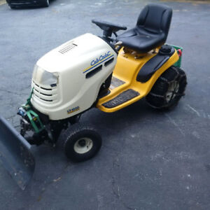 2006 Cub Cadet tractor with plow