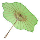Green Fans and Parasols