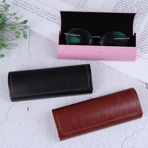 Tragbare Brillenetui aus Leder,Sonnenbrillenetui,Unisex, wasserdichte, HardFC'