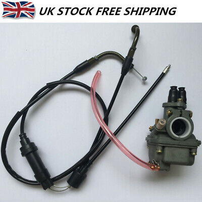 FOR <em>YAMAHA</em> PW80 CARBURETOR CARB WITH THROTTLE CABLE PIWI Y ZINGER PY80